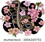 snake illustration for printing ...   Shutterstock .eps vector #2006265752