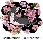 rat illustration for printing...   Shutterstock .eps vector #2006265755