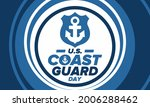 u.s. coast guard day in united...   Shutterstock .eps vector #2006288462
