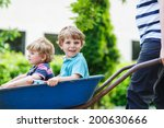 two little boys having fun in a ... | Shutterstock . vector #200630666