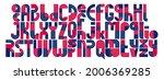 abstract geometric original... | Shutterstock .eps vector #2006369285