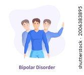 diseases bipolar disorder ... | Shutterstock .eps vector #2006383895