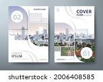 annual report brochure flyer... | Shutterstock .eps vector #2006408585