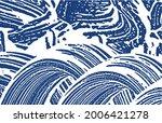 grunge texture. distress indigo ... | Shutterstock .eps vector #2006421278