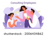 staff counselling concept....   Shutterstock .eps vector #2006434862