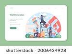 painter web banner or landing...   Shutterstock .eps vector #2006434928