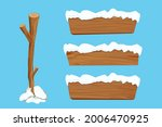 wood sign  set tree stick and...