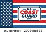 u.s. coast guard day in united...   Shutterstock .eps vector #2006488598