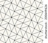 vector seamless pattern. modern ... | Shutterstock .eps vector #200649626