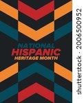 national hispanic heritage...   Shutterstock .eps vector #2006500952