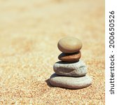 concept of balance and harmony. ... | Shutterstock . vector #200650526