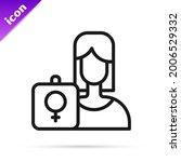 black line female movement ... | Shutterstock .eps vector #2006529332
