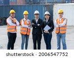 portrait of asian engineering... | Shutterstock . vector #2006547752
