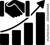 business success vector.... | Shutterstock .eps vector #2006604668