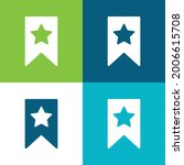 bookmark flat four color...   Shutterstock .eps vector #2006615708