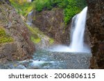 Franklin Falls is located just west of Snoqualmie Pass summit and is an easy hike.