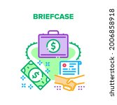 briefcase bag vector icon... | Shutterstock .eps vector #2006858918