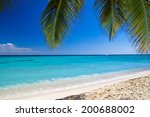 blue sea and clouds on sky | Shutterstock . vector #200688002