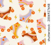 seamless pattern with cute... | Shutterstock .eps vector #2006927648