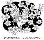 rooster illustration for...   Shutterstock .eps vector #2007033992