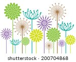 Color Vector Flowers...