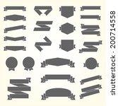 vector set of design elements | Shutterstock .eps vector #200714558