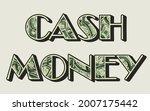 cash money vintage colorful... | Shutterstock .eps vector #2007175442