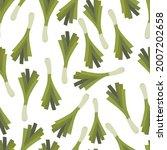 hand drawn seamless pattern... | Shutterstock .eps vector #2007202658