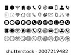 web icons.contact icon set...   Shutterstock .eps vector #2007219482