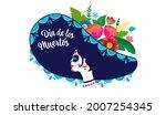 dia de los muertos  day of the... | Shutterstock .eps vector #2007254345