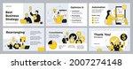 presentation and slide layout... | Shutterstock .eps vector #2007274148