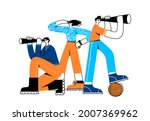 searching for business... | Shutterstock .eps vector #2007369962