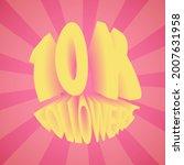 10k followers. banner ...   Shutterstock .eps vector #2007631958