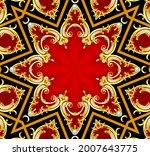 illustration decorative ...   Shutterstock . vector #2007643775