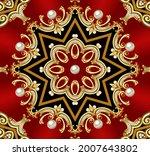 illustration decorative ...   Shutterstock . vector #2007643802