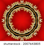 illustration decorative ...   Shutterstock . vector #2007643805