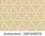 abstract geometric pattern with ...   Shutterstock .eps vector #2007648578