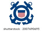 coast guard poster. symbol of...   Shutterstock .eps vector #2007690695