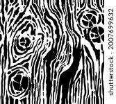 Vector Hand Drawn Wood Texture...
