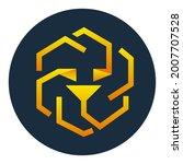 unus sed leo token symbol...   Shutterstock .eps vector #2007707528