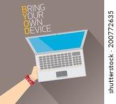 vector flat design concept of... | Shutterstock .eps vector #200772635
