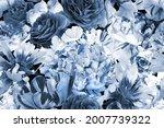 floral vintage seamless pattern.... | Shutterstock . vector #2007739322