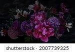luxurious baroque bouquet.... | Shutterstock . vector #2007739325