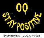 urban neon graffiti stay... | Shutterstock .eps vector #2007749405