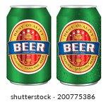 beer label vector visual on...   Shutterstock .eps vector #200775386