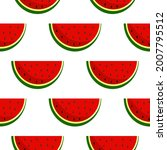 vector watermelon background...   Shutterstock .eps vector #2007795512