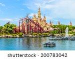 singapore june 25  beautiful... | Shutterstock . vector #200783042