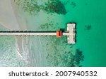 Aerial View Of Bang Bao Pier...