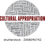 cultural appropriation vector... | Shutterstock .eps vector #2008096742