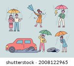 people who show various...   Shutterstock .eps vector #2008122965